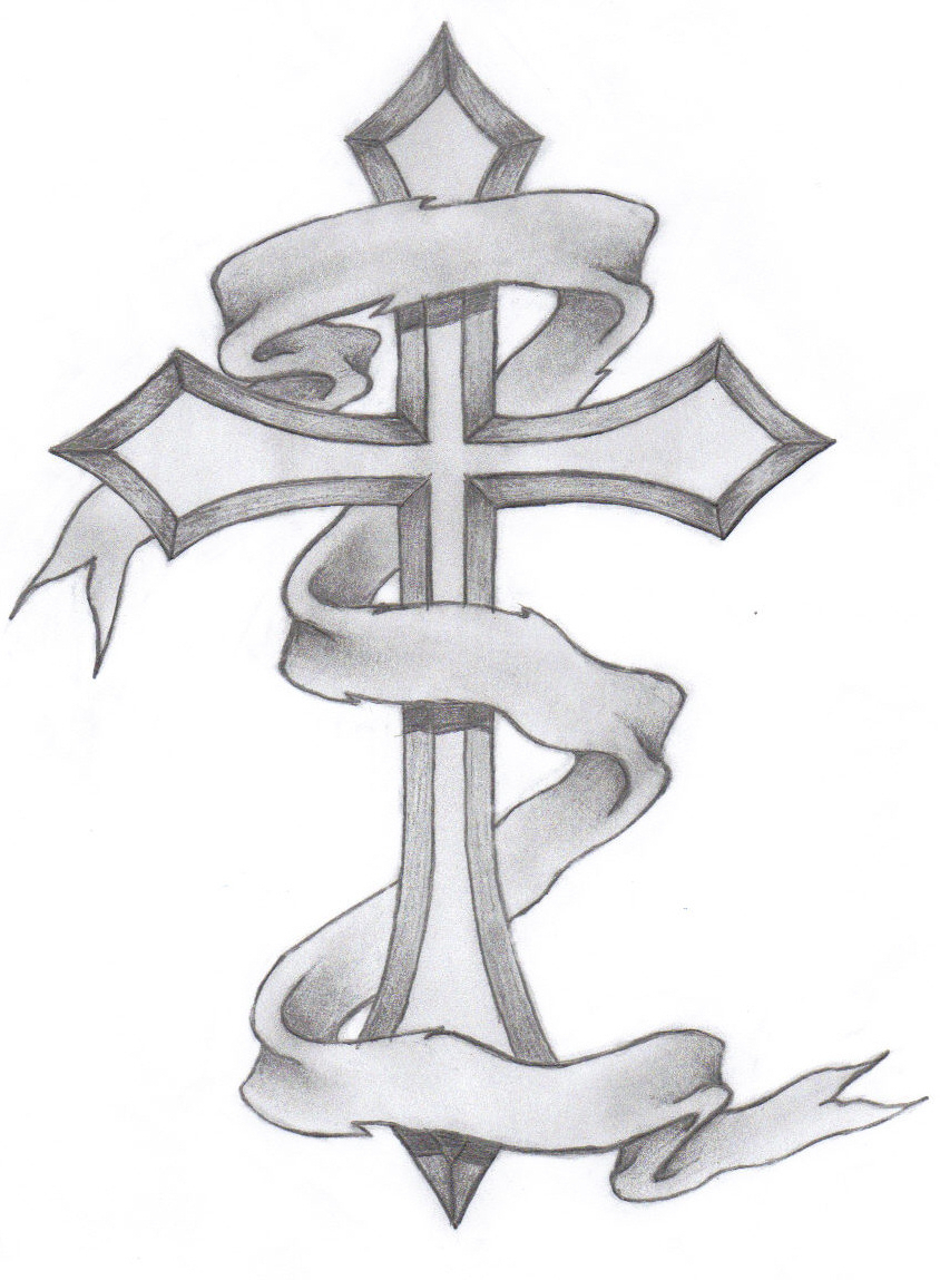 844x1149 Gallery Pencil Drawing Of A Cross,