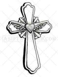 236x314 Fancy Cross Tattoos For Women
