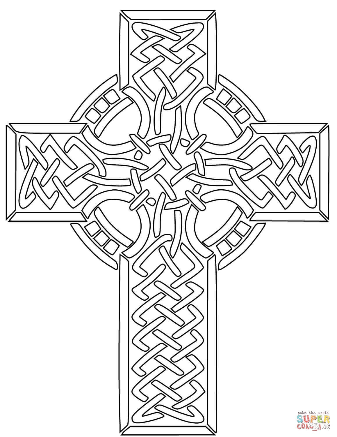 1159x1500 Celtic Cross Coloring Pages Free Coloring Pages Download Xsibe