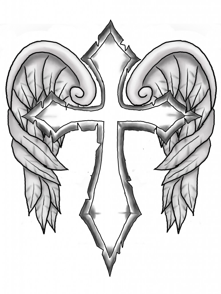 772x1024 Cross Coloring Pages