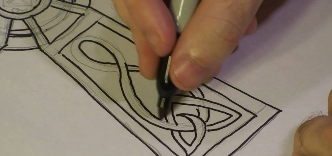 1280x600 How To Draw A Celtic Cross Drawing Amp Illustration Wonderhowto