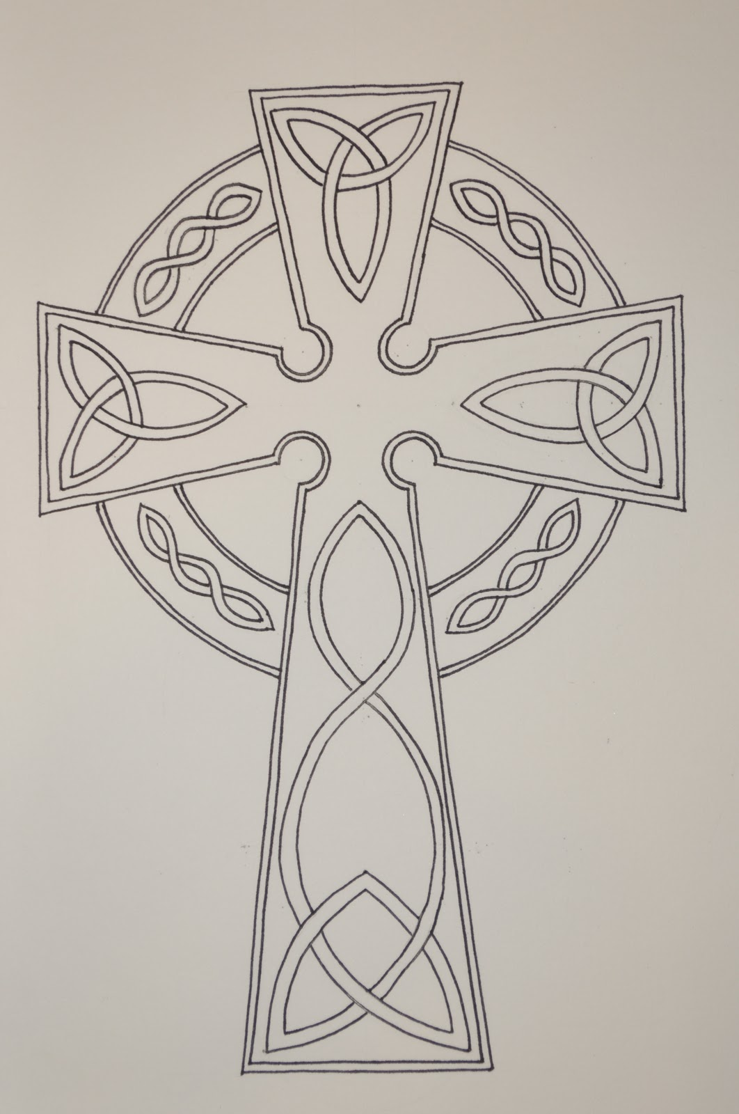 1062x1600 Summertime Ink Celtic Cross Tattoo