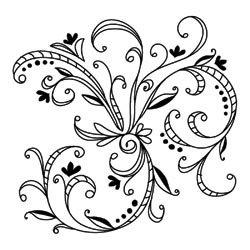 250x250 579 Best Swirl Designs Images On Stencils, Arabesque