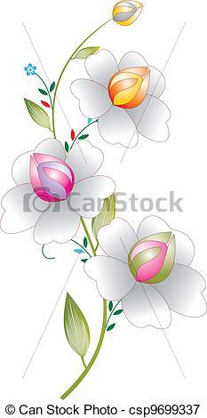 233x470 Fancy Flowers.