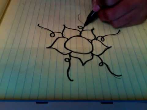 480x360 How To Draw A Coolfancy Flower