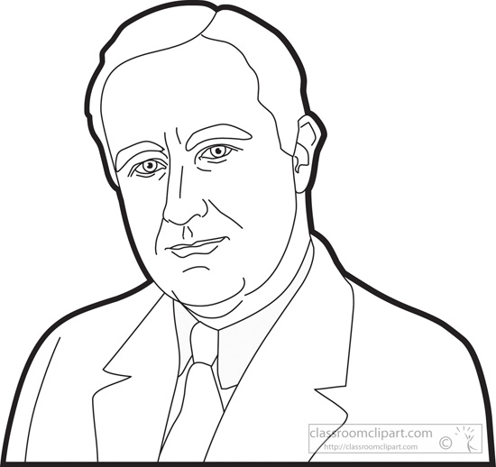 550x518 Collection Of Fdr Drawing Easy High Quality, Free Cliparts