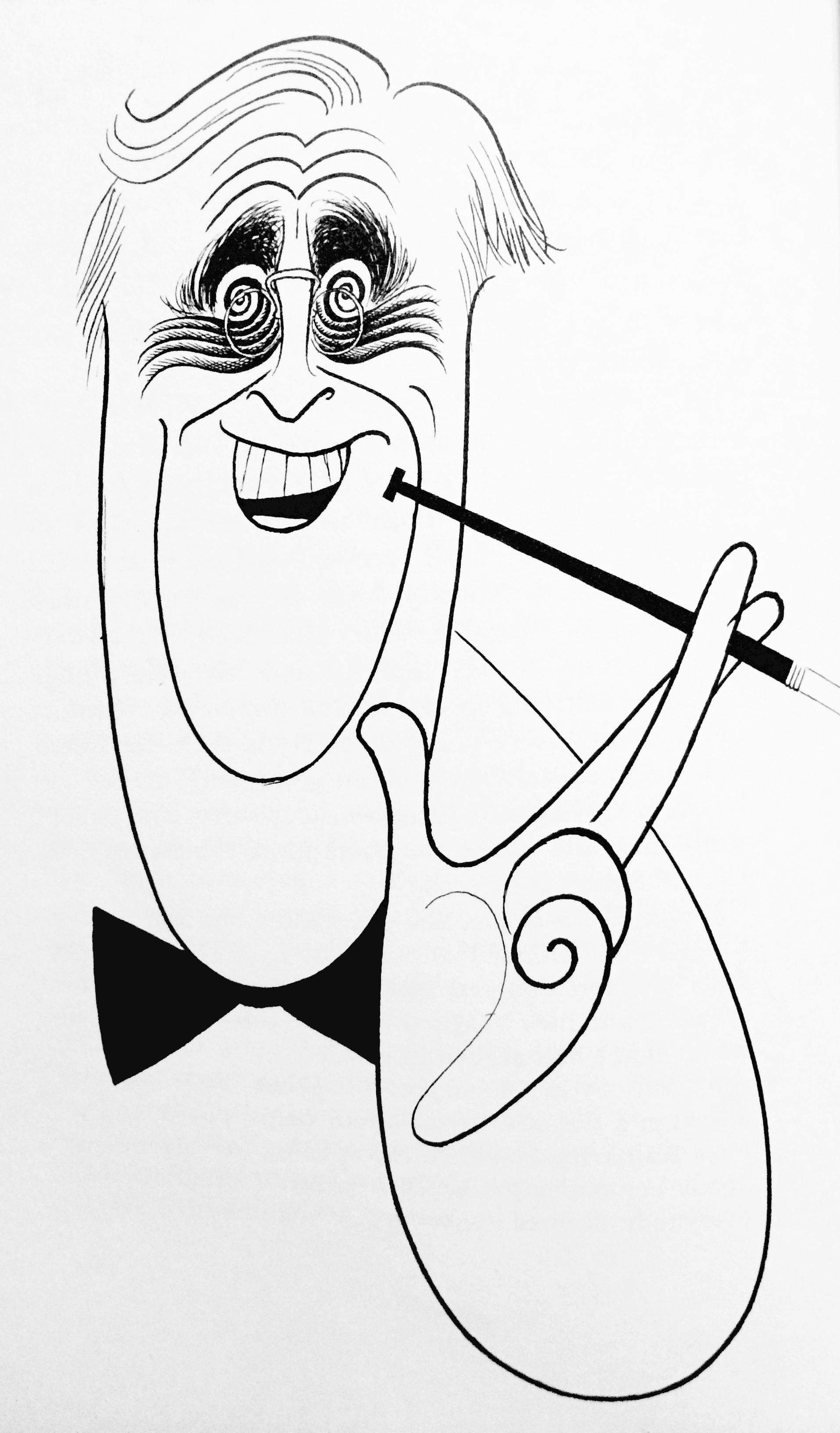 1914x3264 Al Hirschfeld ~ Franklin D. Roosevelt Humor Myself Or, Good Art