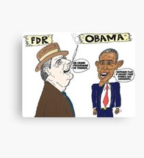 210x230 Fdr Drawing Canvas Prints Redbubble