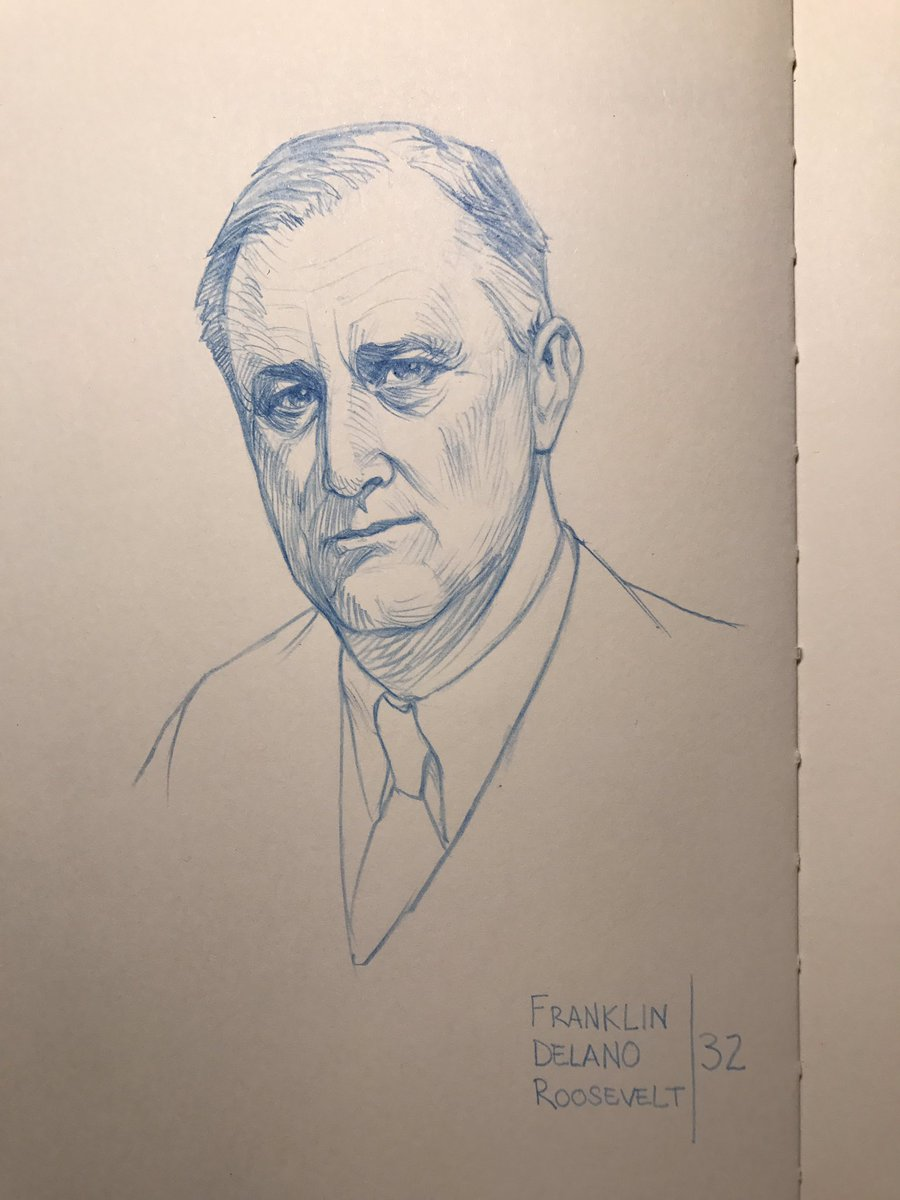 900x1200 John Paul Balmet On Twitter Fdr Pencils. Regarded As One