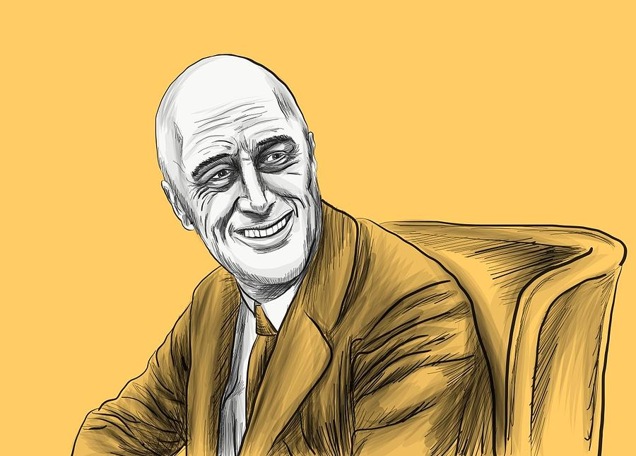 900x645 Prof. Fdr Drawing By Ryan Lanigan