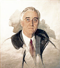 250x283 Unfinished Portrait Of Franklin D. Roosevelt