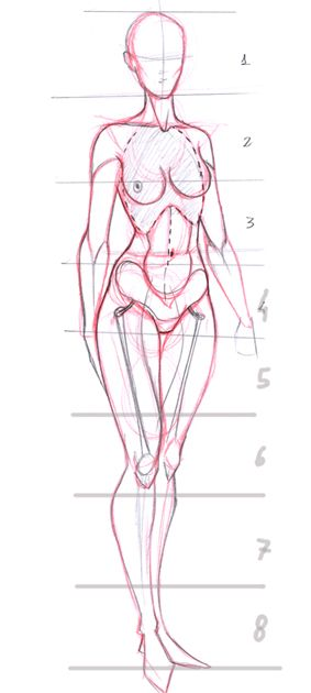 283x630 Today's Drawing Class Drawing The Female Body Female