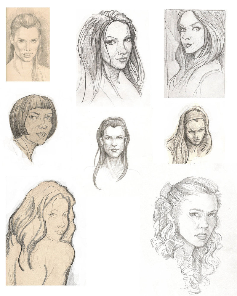 800x1000 Female Face Drawing Reference Female Head Drawing Reference
