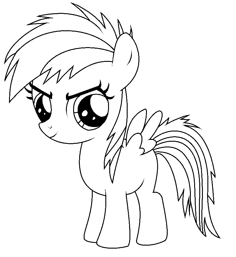 Filly Drawing At Getdrawingscom Free For Personal Use Filly