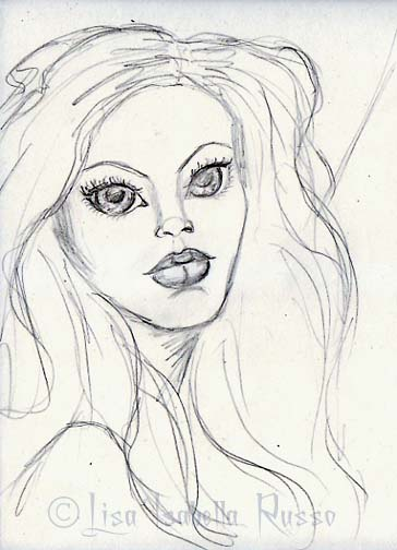 364x504 The Fine Art And Ramblings Of Lisa Isabella Russo Mermaid Big Eye