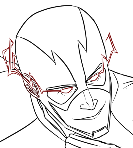 425x472 Reverse Flash Teaser By Constantscribbles
