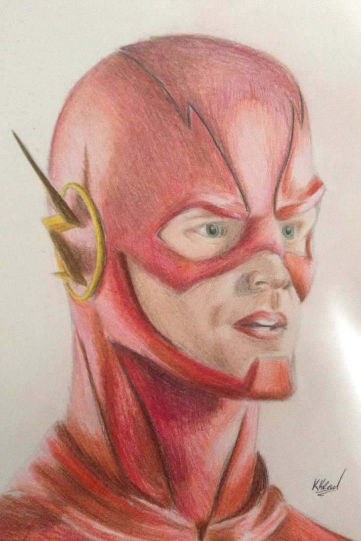 731x1094 Cw The Flash By Thehumanspider7