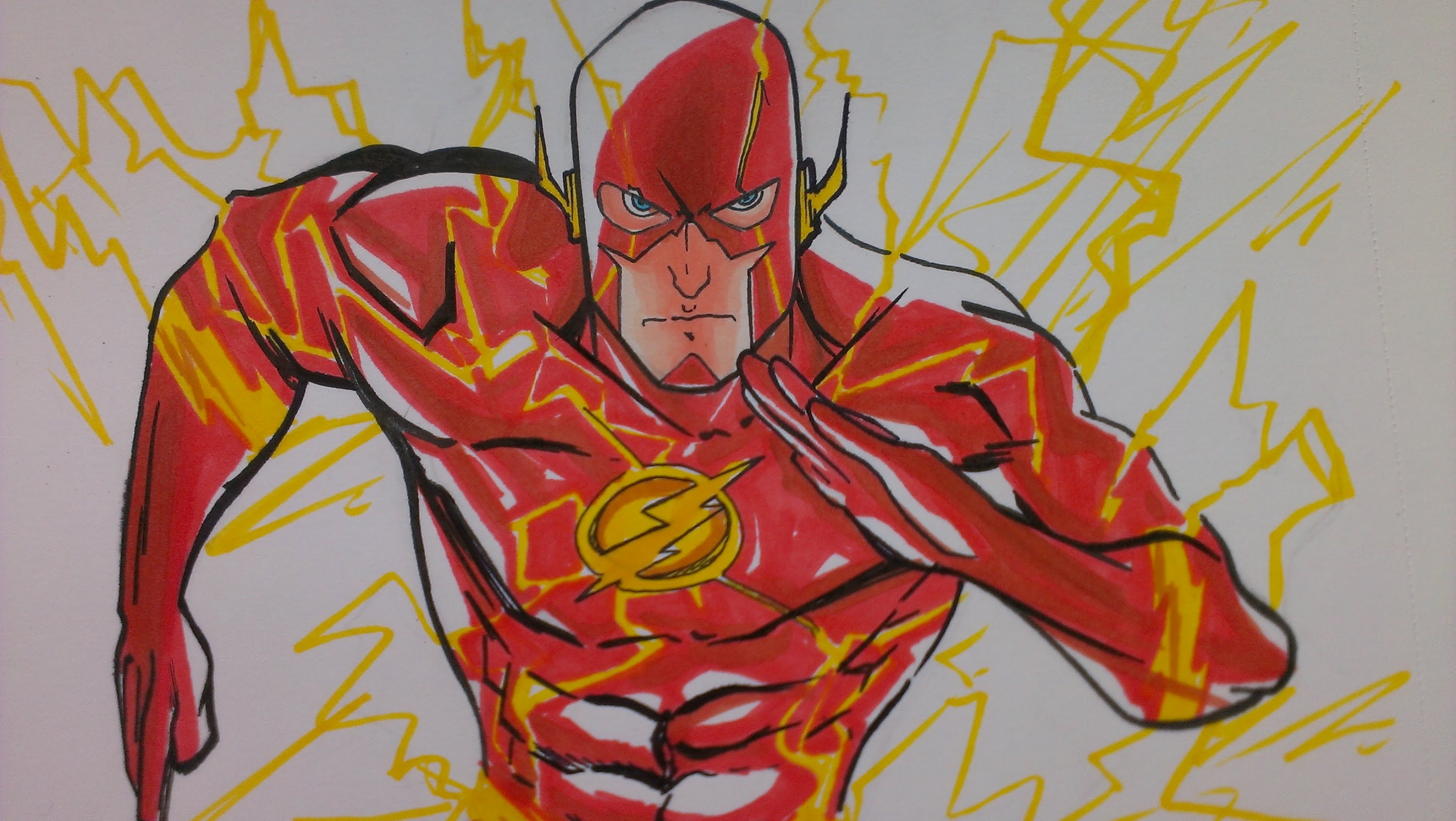 3000x1691 Prismacolor Speed Draw The Flash