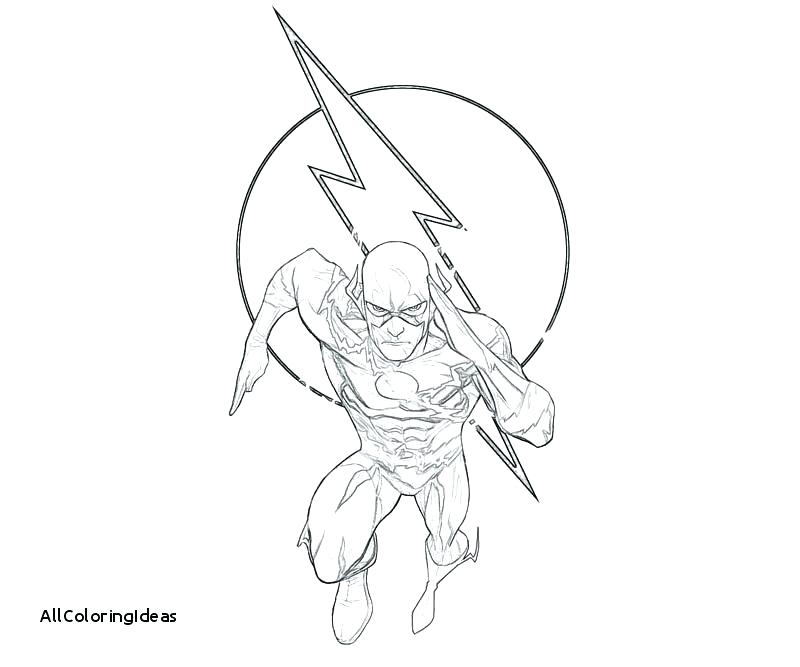 800x667 Emerging The Flash Coloring Pages Dc Free Colo