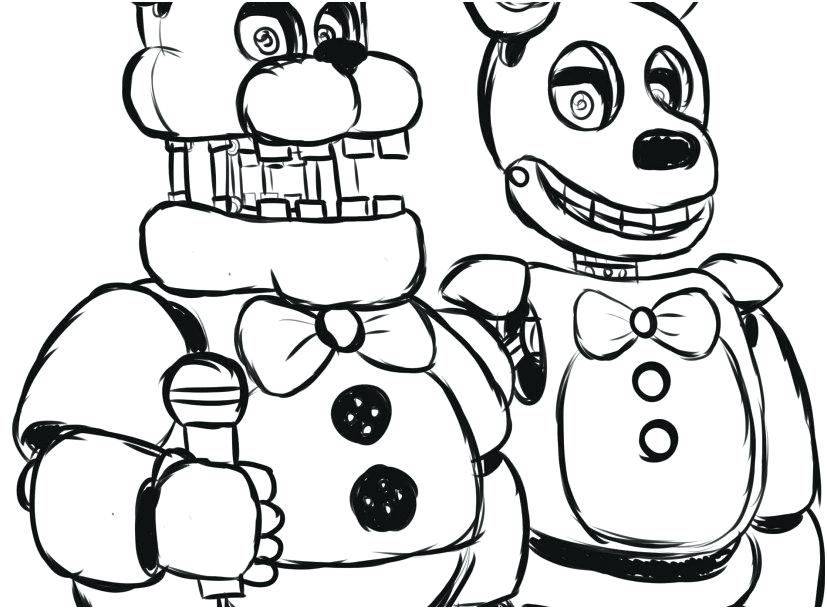 Fnaf Characters Drawing At Getdrawingscom Free For Personal Use