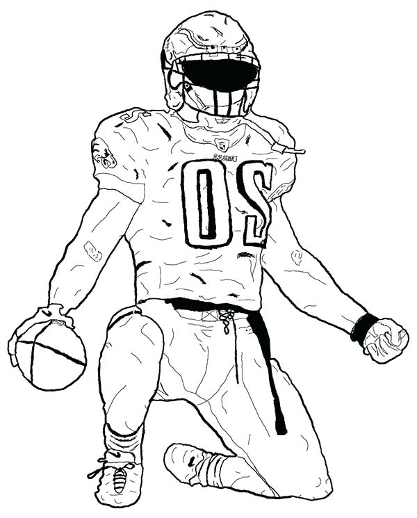 600x745 Football Players Coloring Pages Gallery Clip Art Library Football