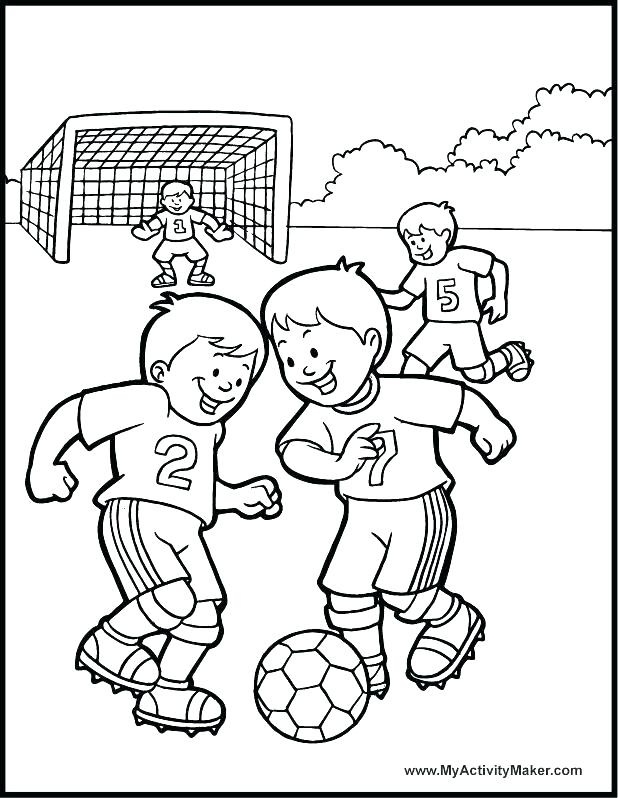 618x798 How To Draw A Football Player And Drawing A Cartoon Soccer Ball