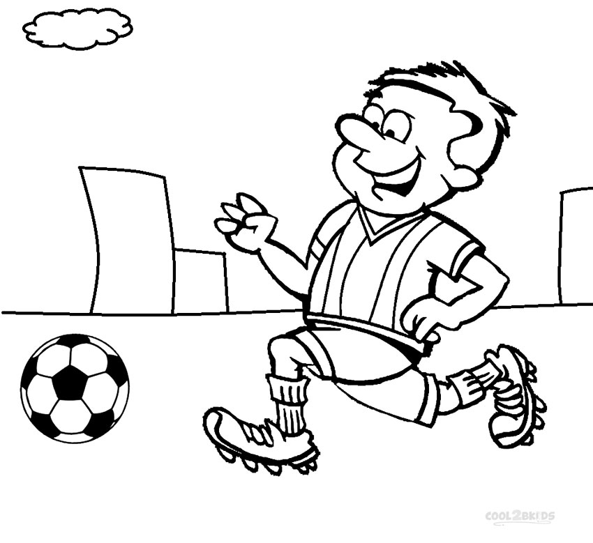 850x779 Collection Of Kids Football Drawing High Quality, Free