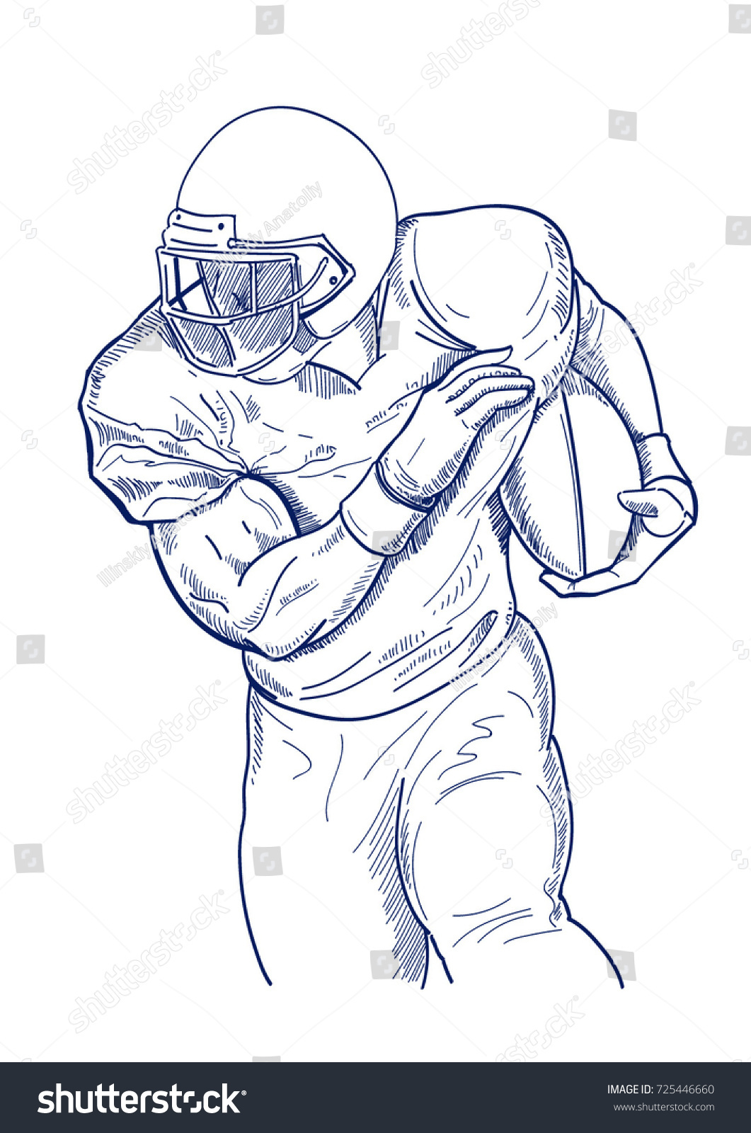 1061x1600 Collection Of Football Player Drawing Images High Quality