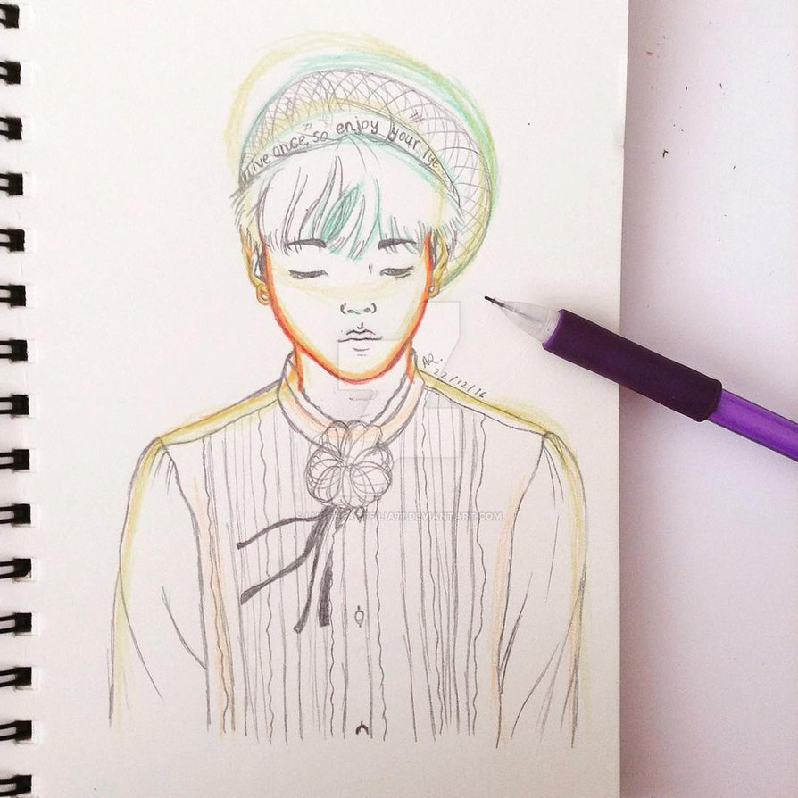 894x894 Bts Suga (Young Forever Ver. 221216) By Lucyheartfilia77