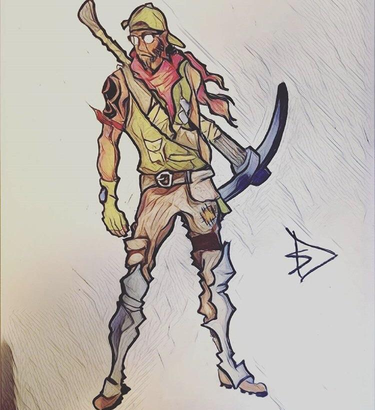 Fortnite Drawing At Getdrawingscom Free For Personal Use Fortnite