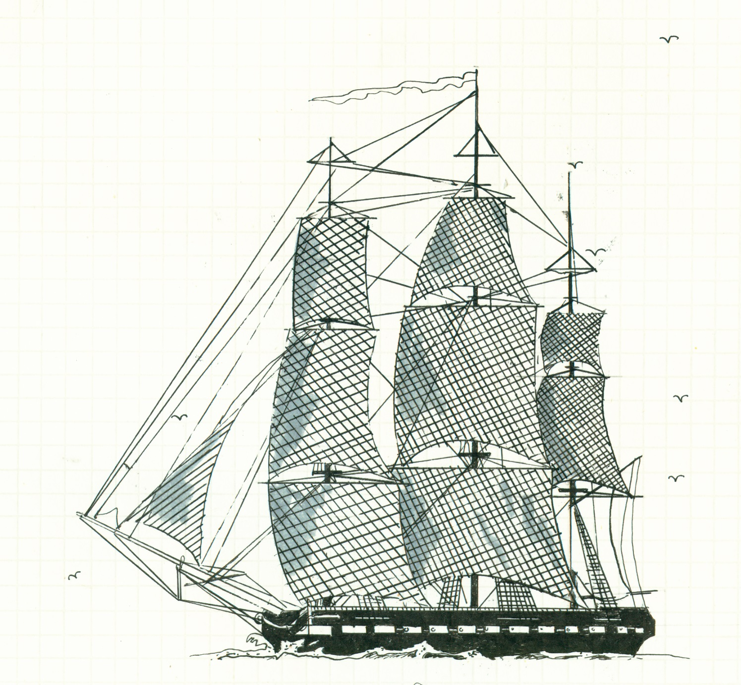 1495x1383 Warshipsresearch Greek Frigate Liberator 1826 And American