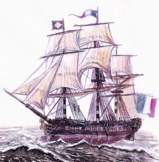 637x649 French Revolution Frigate By Bodach