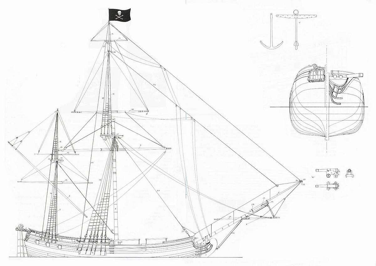 1200x848 Free Plans Tall Ships
