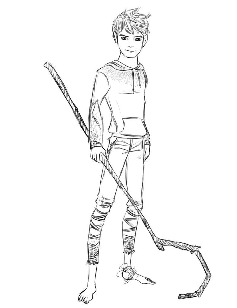 784x1019 Jack Frost Rough Sketch 2 By Berserknoise