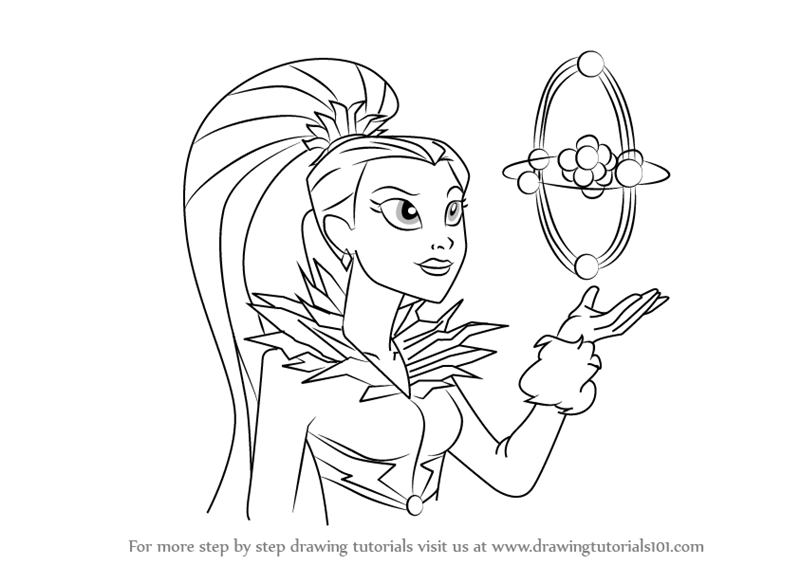 800x565 Step By Step How To Draw Killer Frost From Dc Super Hero Girls