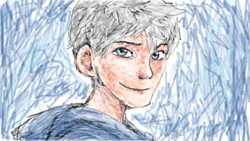 1024x578 Jack Frost Touchpad Drawing Ms Paint By Mimidan