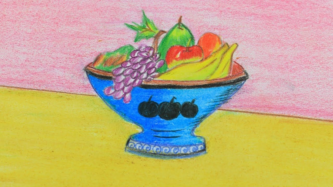 Fruit Basket Drawing Easy At Getdrawings Com Free For Personal Use
