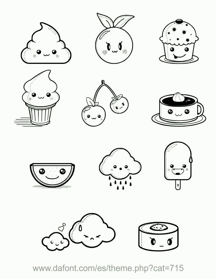 736x951 Fun Easy Drawing Ideas Best 25 Kawaii Doodles Ideas