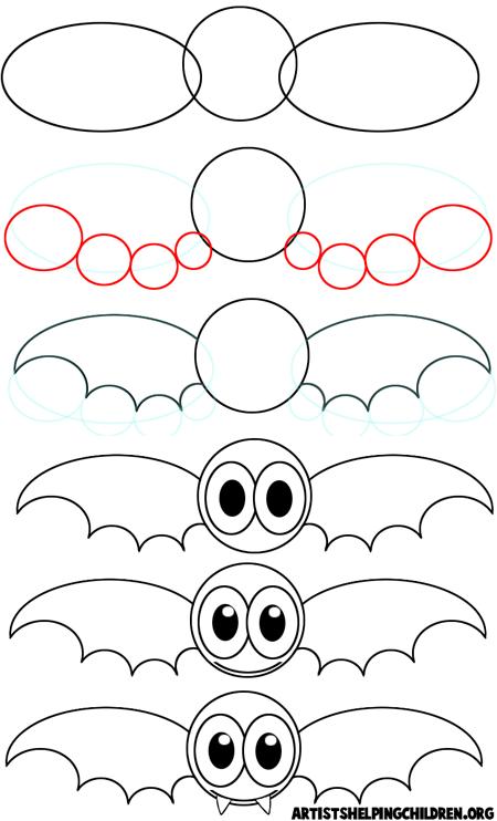 450x742 Halloween Drawing Ideas For Kids Halloween Drawing Ideas For Kids