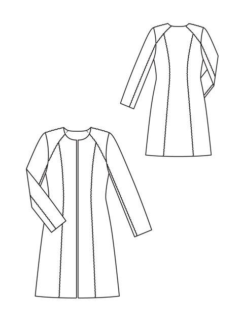 475x633 Faux Fur Coat 092012