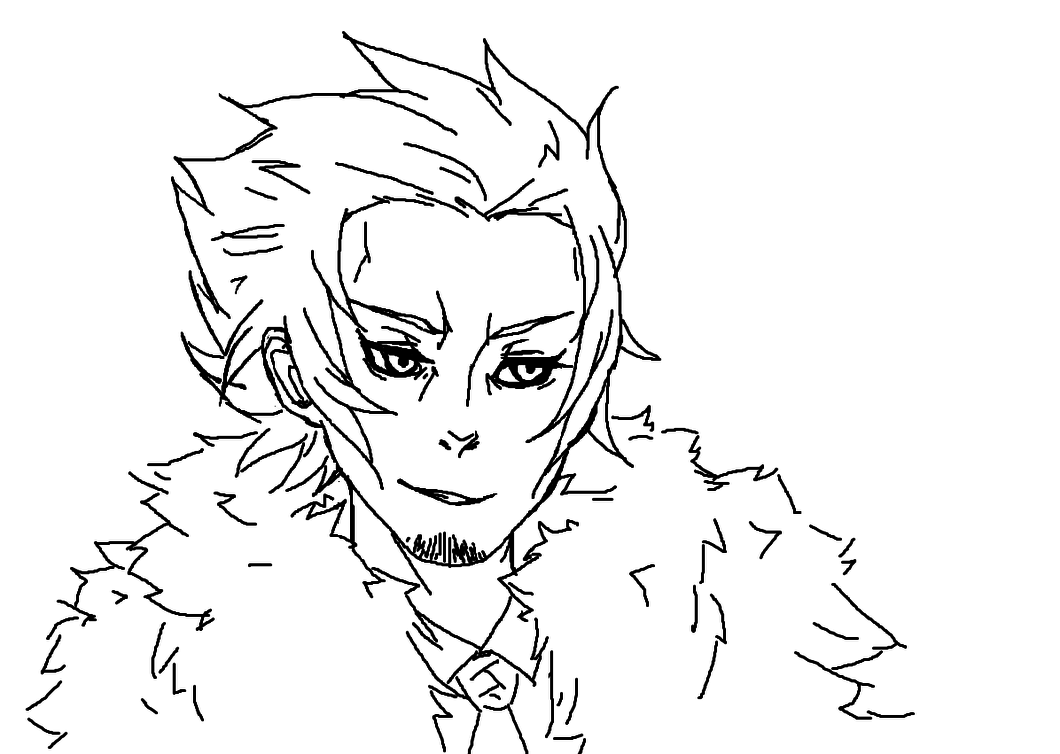 1060x754 Gangrel In A Puffy Fur Coat And A Suit By Delicaterosebud