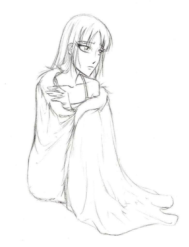 781x1023 Skye In The Fur Coat By Kashidoodles