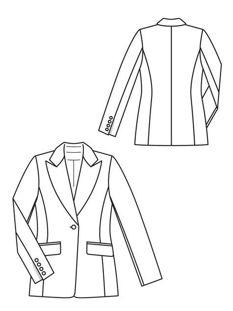 475x633 Tailored Blazer 112012