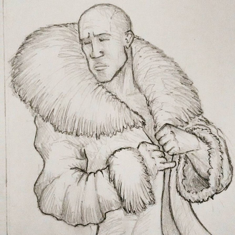 894x894 Massive Fur Coat By 3trena