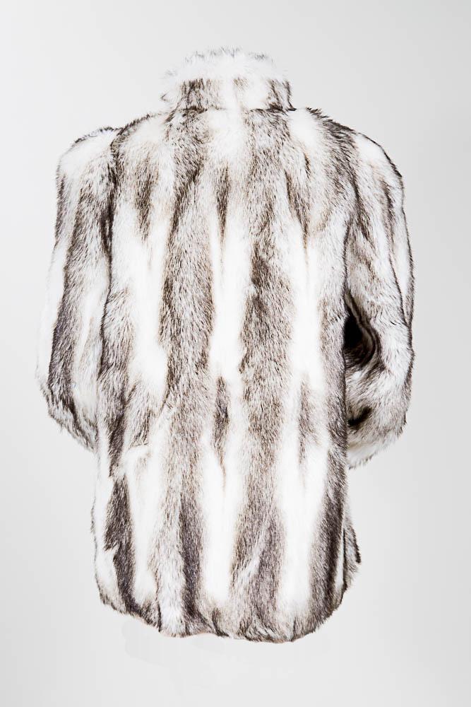 667x1000 Style Vi Ltd Faux Fox Fur Coat 9to5.style