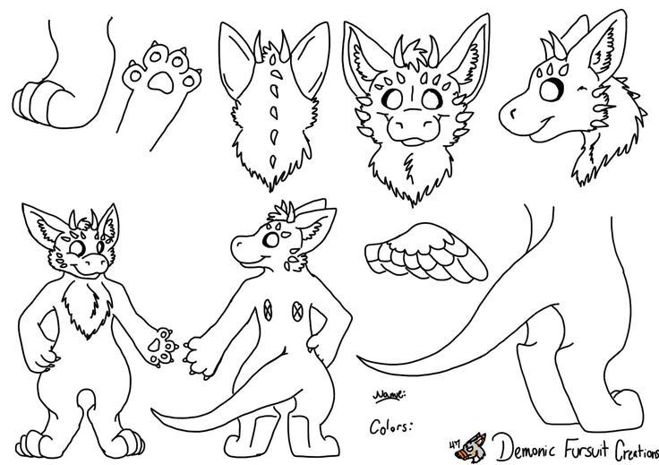 The Best Free Fursuit Drawing Images  Download From 52 Free Drawings Of Fursuit At Getdrawings