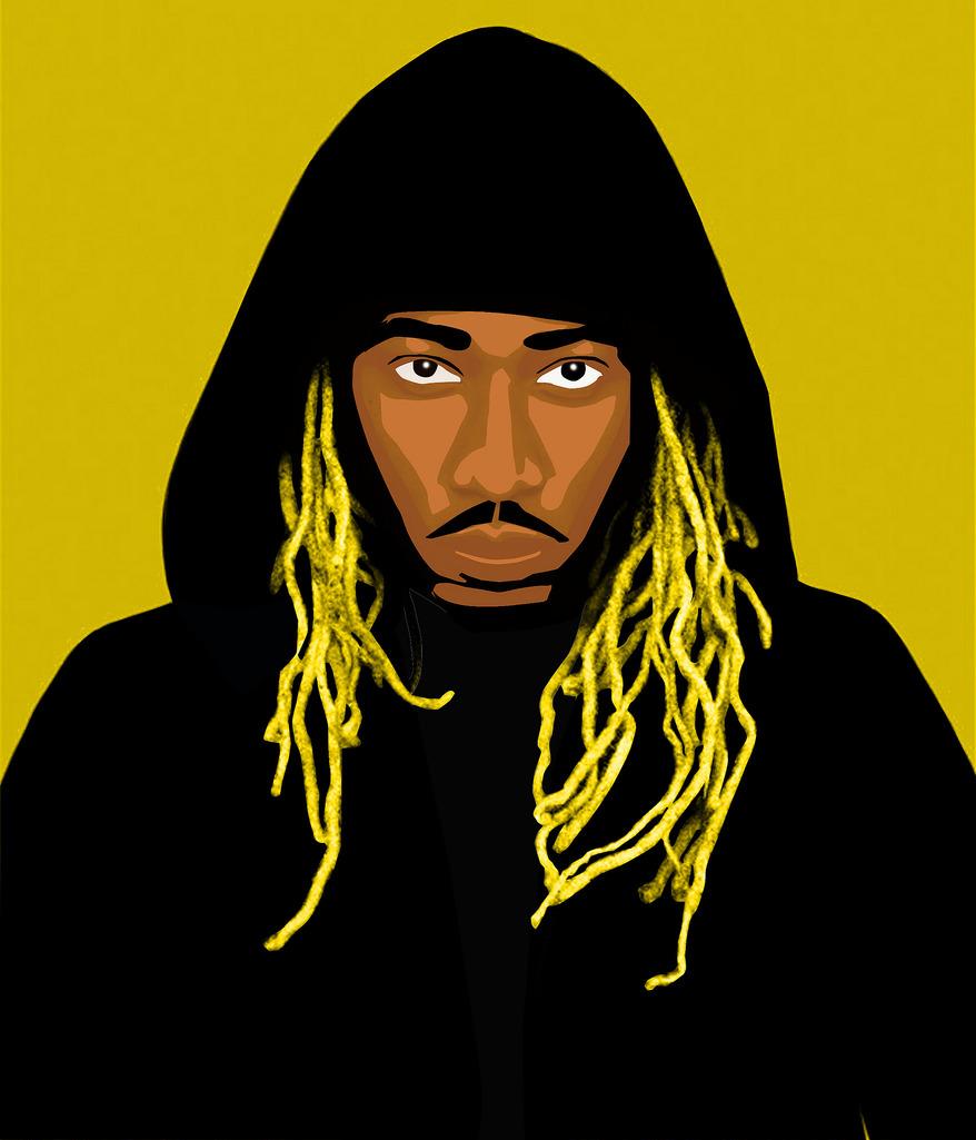 878x1025 Future [Rapper] Cartoon Michael Adedokun