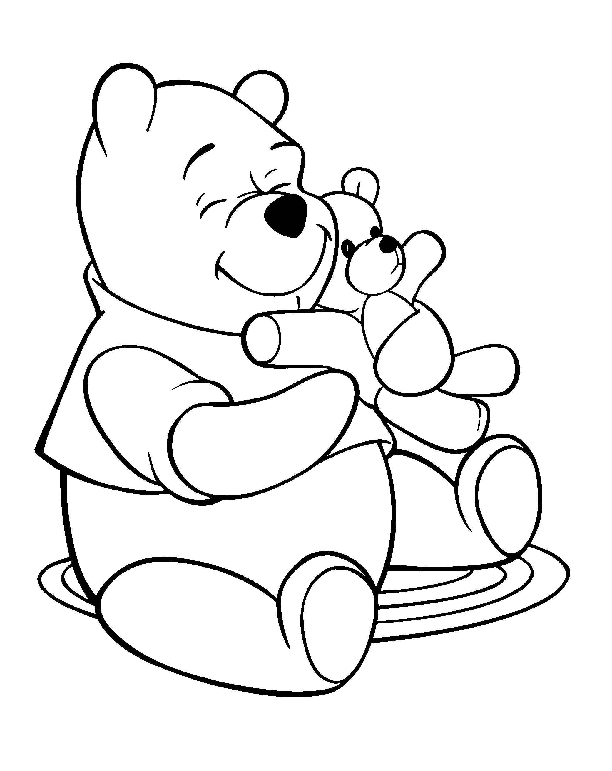 2082x2622 Bargain Teddy Bear Coloring Page