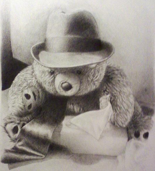 529x583 Gangsta Bear By Deeplydisturbd