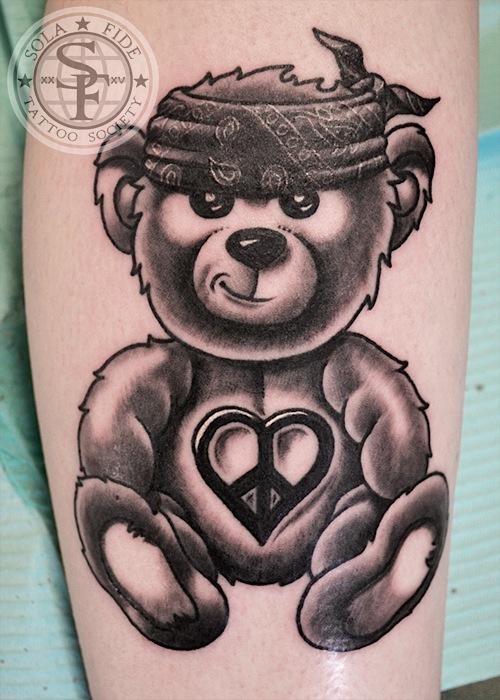 500x700 Similiar Gangster Teddy Bear Drawings Keywords